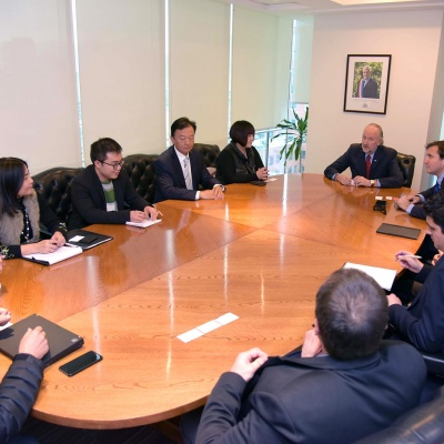 Meeting with Mining Minister in Chile