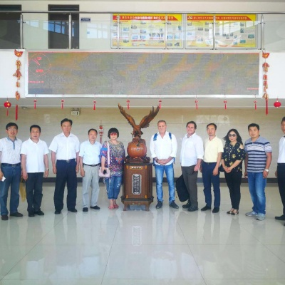 Admiralty Mining Visit MA Steel Company in China